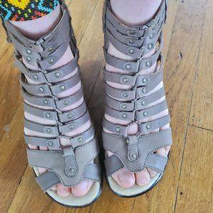 COPY - Strappy Platform Sandals